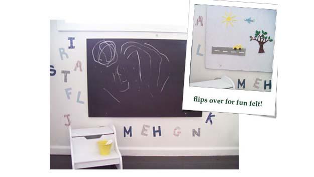 make a creative kids station