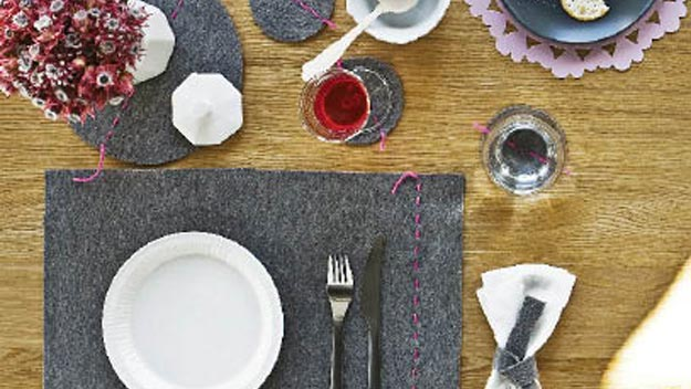 Handy woman: make your own placemats