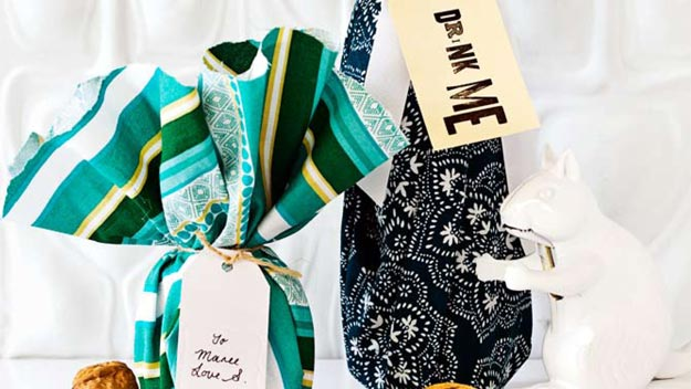 Last-minute gift wrap ideas