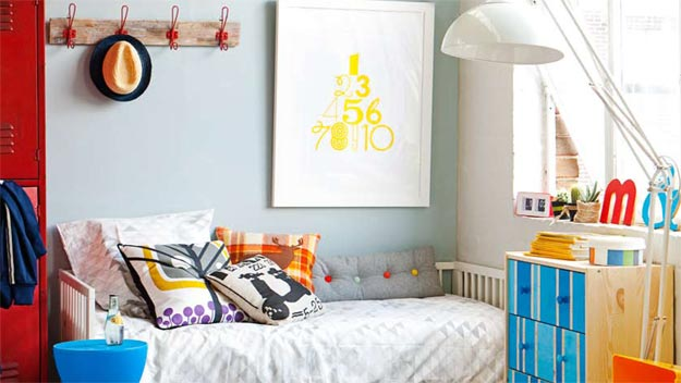 Create double-duty kids rooms