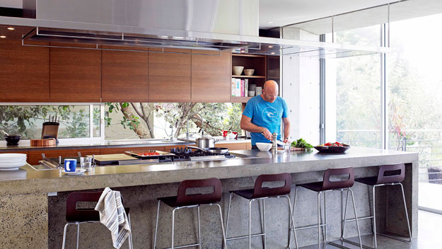 Matt Moran's kitchen