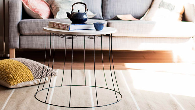 Lightshade coffee table
