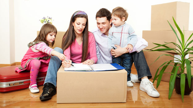 Moving with kids: how to make things work