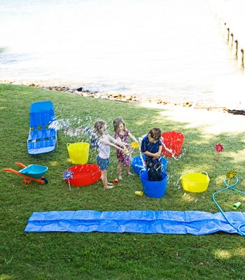 Kids' play day ideas