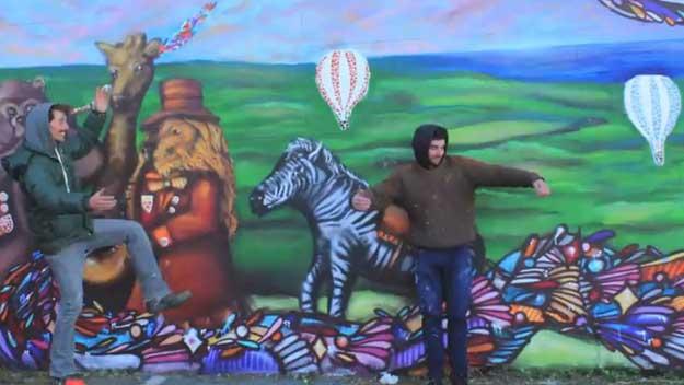 Graffiti cure for community hit by $60m bushfire loss