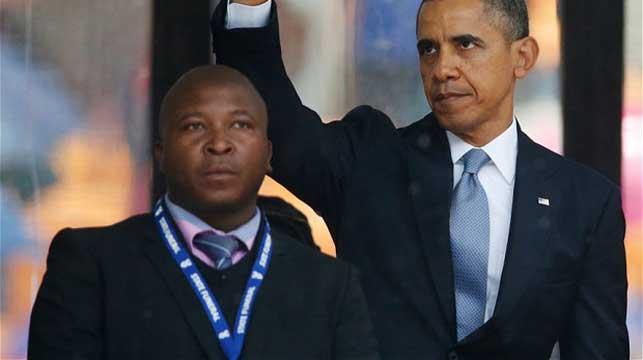 Fake Mandela memorial interpreter attempting a change of career