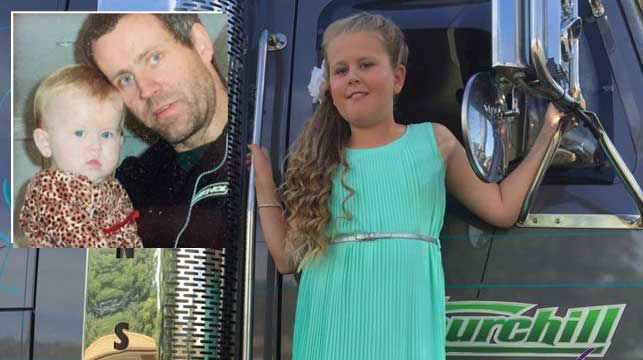 Truckie's dying words to daughter guide her in life