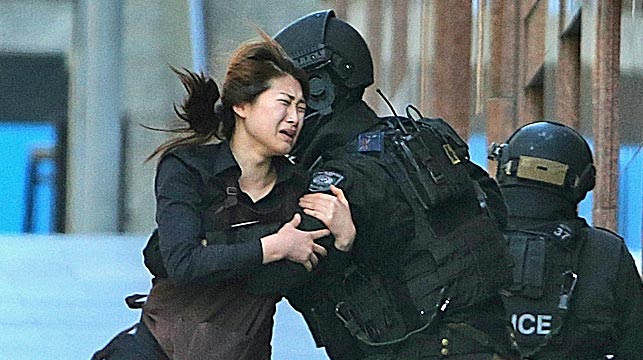 Sydney siege one year on - The photo that shocked a nation