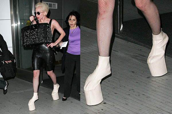 Lady Gaga Heelless Shoes For Sale