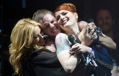Kylie Minogue, Scissor Sisters