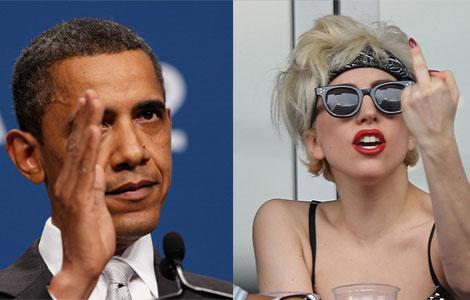 Gaga/Obama