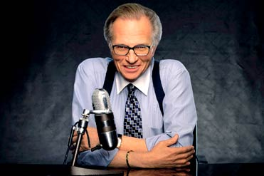 Larry King quitting his talk show