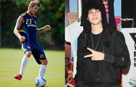 Bieber, Beckham