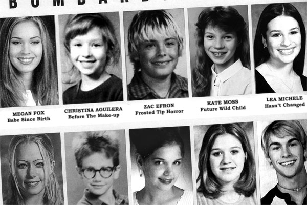 54 Best Celebrity high school pictures images ...