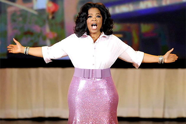 Oprah insists she and Rosie O'Donnell aren't feuding