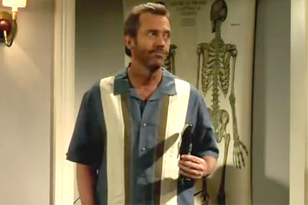 Video: House spoofs Two and a Half Men