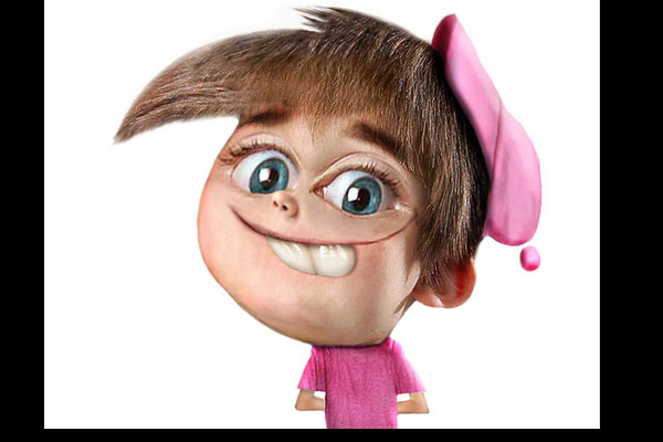 9 Cartoon Characters And Their Real Life : Super creepy real life versions of cartoon characters