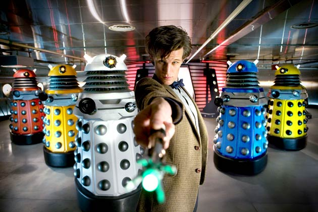 Doctor Who exterminates the Daleks