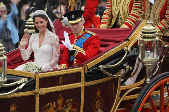 In the biggest royal wedding since Charles and Diana, Wills 'n' Kate kept things traditional when they tied the knot in epic style in April 2011.