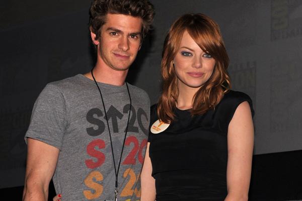 Emma Stone and Andrew Garfield's hotel sleepover!