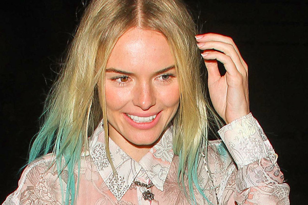 Hot or not: Kate's gone green!