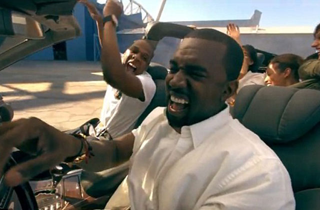 Kanye West And Jay Z Destroy Car Give It To Charity 9thefix
