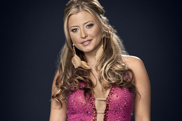 Holly Valance glams it up for UK dancing show