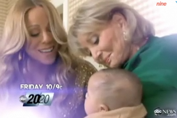 New video: Mariah Carey's twins make TV debut
