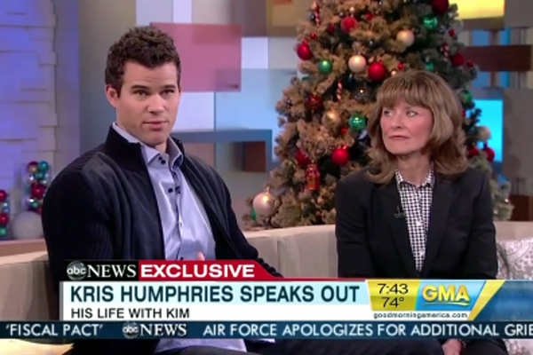 Video: Kris Humphries is asked 'Do you still love Kim?'