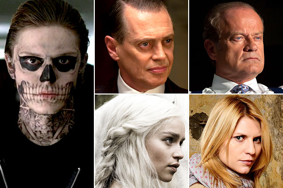 <i>American Horror Story</i><br/><i>Boardwalk Empire</i><br/><i>Boss</i><br/><i>Game Of Thrones</i><br/><i>Homeland</i>