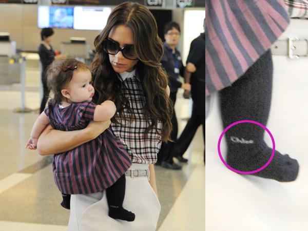 David Beckham Says Baby Harper S Wardrobe Is Ridiculous 9celebrity