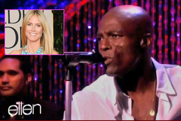 "WTF: Seal performs song called ""Let's Stay together"" on Ellen"