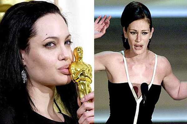 If you're an Academy Award-winning celeb, you can either give a boring run-of-the-mill acceptance speech, a touching acceptance speech, or a crazy O.T.T. acceptance speech. Relive some of the most emotional and most embarrassing moments at the Oscars podium.