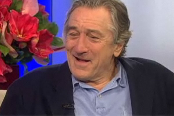 Watch: Robert De Niro admits he was mistaken for a homeless man