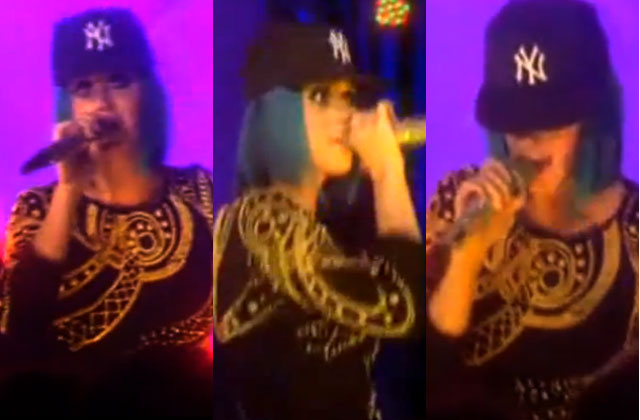 Video: Katy Perry tries to rap Jay-Z and Kanye West