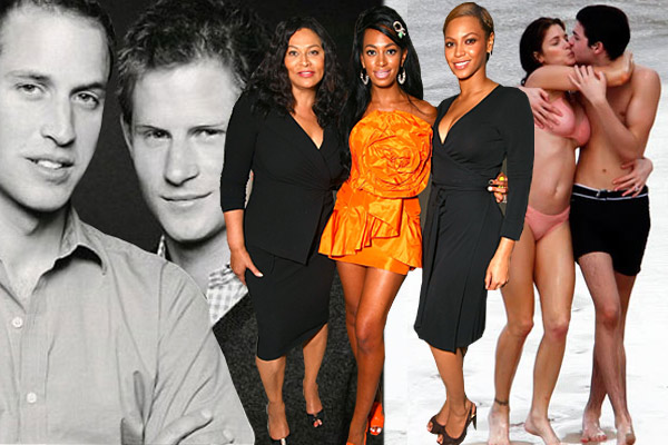 Pics: Hot celebrity families