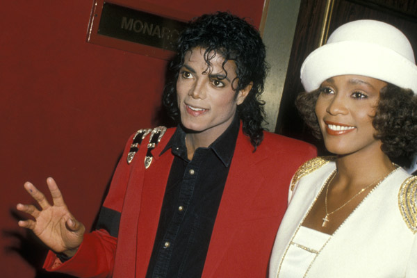 Whitney had a secret fling with Michael Jackson: Bodyguard says 'he dreamed of marrying her'