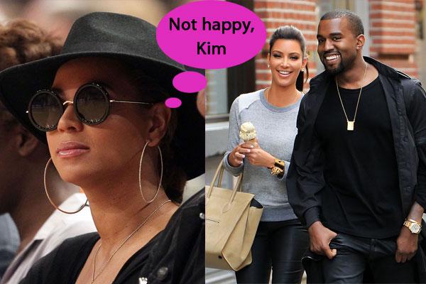 Beyonce thinks Kim Kardashian is a bad choice for Kanye