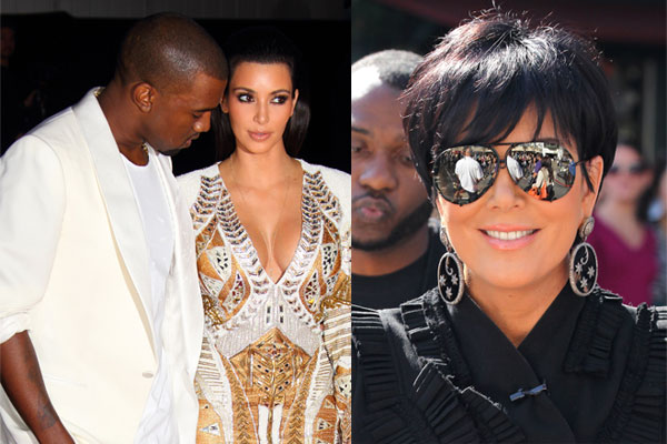 Kanye buys Kim's mum a $200,000 car to win brownie points