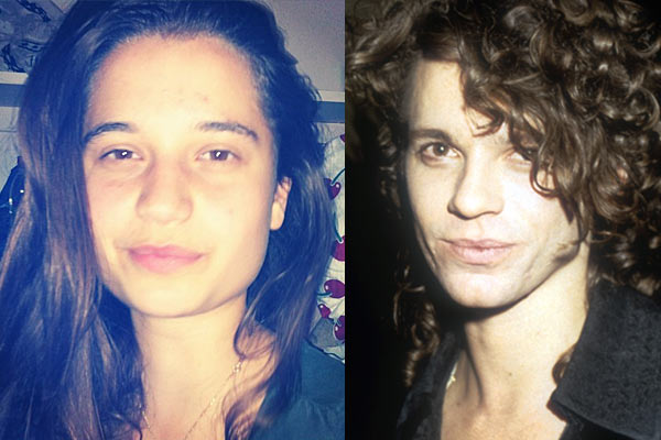 Almost all grown up: Tiger Lily is the spitting image of Michael Hutchence
