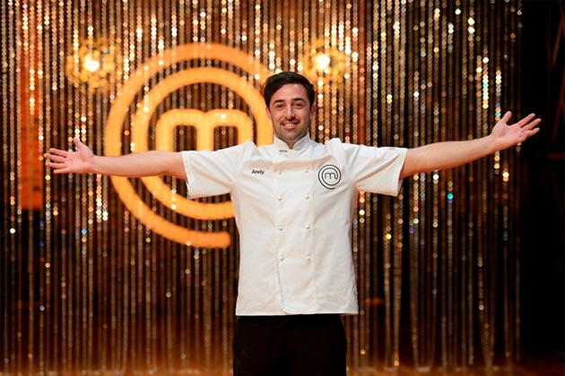 Andy wins MasterChef:
