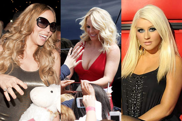 Watch: Christina Aguilera talks about new TV rivals Britney Spears and Mariah Carey