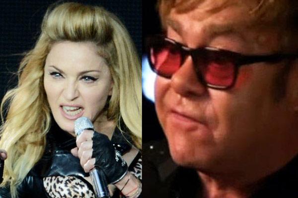 Elton John: Madonna is a 'fairground stripper' whose 'career is over'