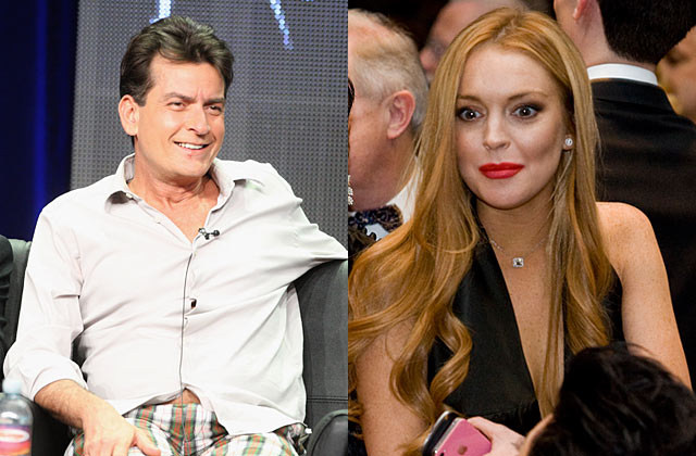 Lindsay Lohan cast in <i>Scary Movie 5</i> with Charlie Sheen