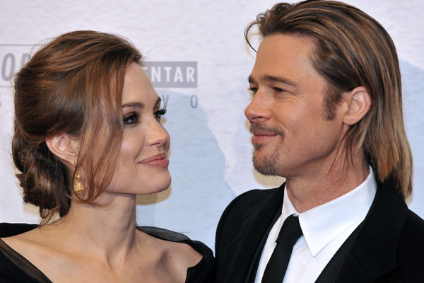 Report: Brad and Angelina to marry this weekend