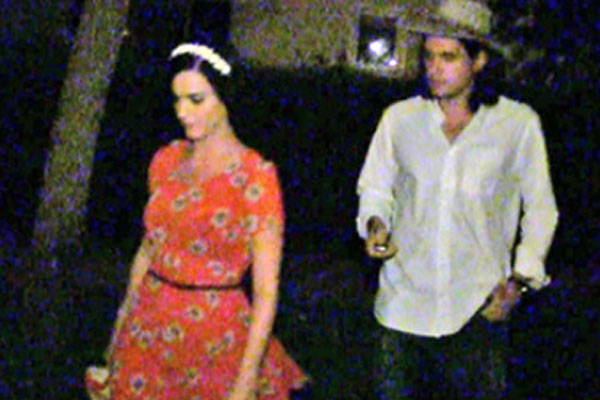 Video: Katy Perry and John Mayer busted leaving party together