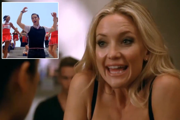 Watch: Kate Hudson makes her mean Glee debut