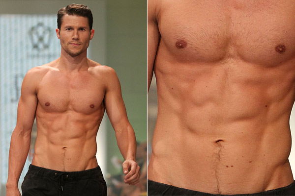 Phwoar! Jason Dundas is now mega-ripped: 'I trade chips for blueberries'