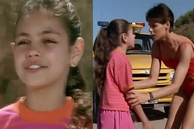 Before she was famous: Mila Kunis' super-cute acting debut on Baywatch