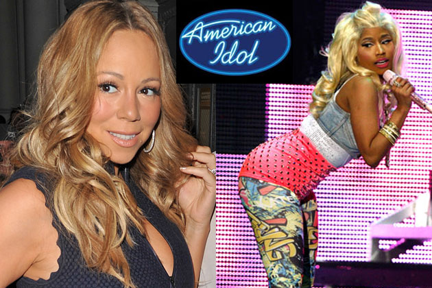 Mariah Carey flips out about Nicki Minaj joining <i>American Idol</i>